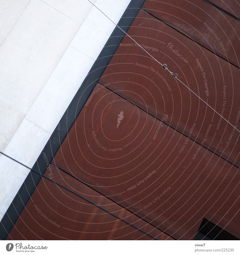House (Residential Structure) Dark Wall (building) Architecture Stone Wall (barrier) Building Line Metal Brown Concrete Facade Design Esthetic Modern