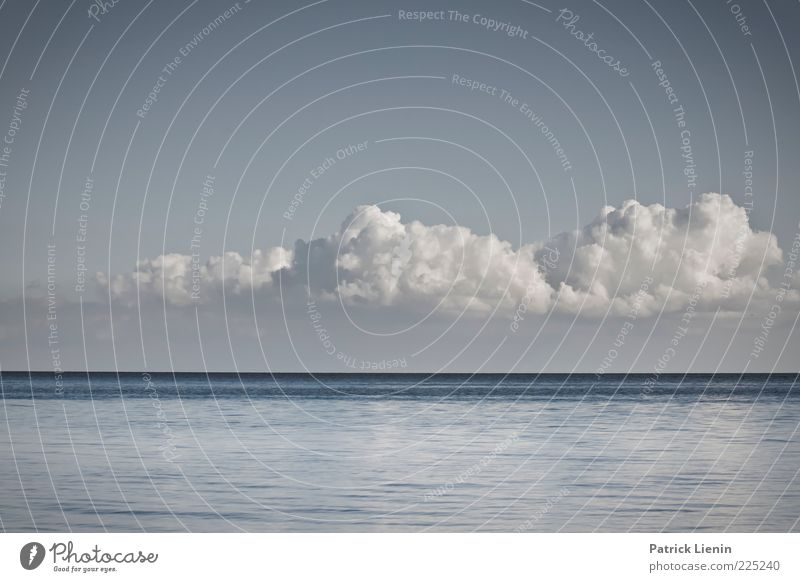 Sky Nature Water White Beautiful Ocean Clouds Far-off places Environment Coast Moody Air Line Weather Waves Wind