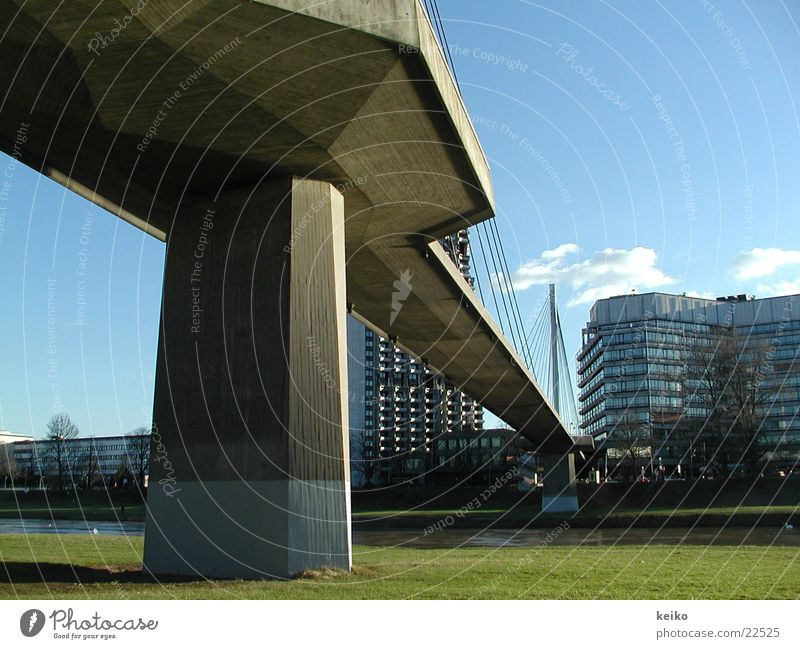 Architecture Bridge Mannheim