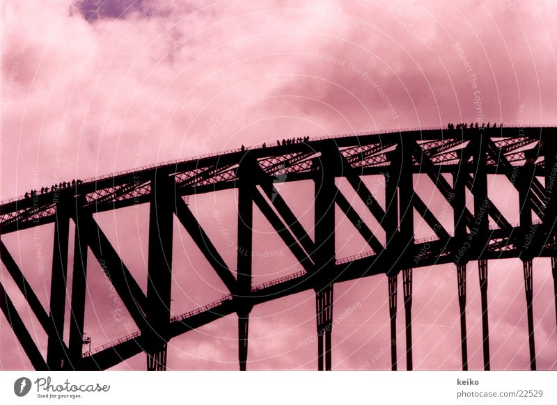 keiko Sydney Australia Bridge Human being bridge ascent