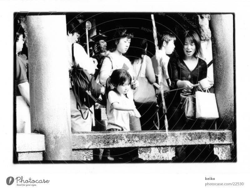 keiko Japan Kyoto Group Mother and daughter