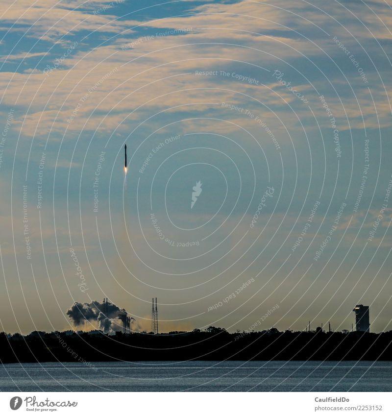 3 - 2 - 1 - Lift-off! Adventure Machinery Technology Science & Research Advancement Future High-tech Astronautics Air Aviation Aircraft Rocket Success Power
