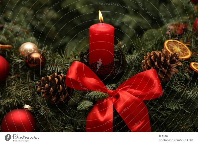 Christmas & Advent Green Winter Background picture Happy Feasts & Celebrations Decoration Happiness Fire Candle New Card Public Holiday Burn Flame Festive