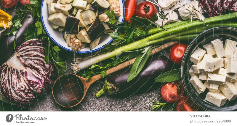 Healthy Eating Food photograph Style Design Nutrition Table Herbs and spices Vegetable Organic produce Restaurant Crockery Bowl Cooking Diet Vegetarian diet
