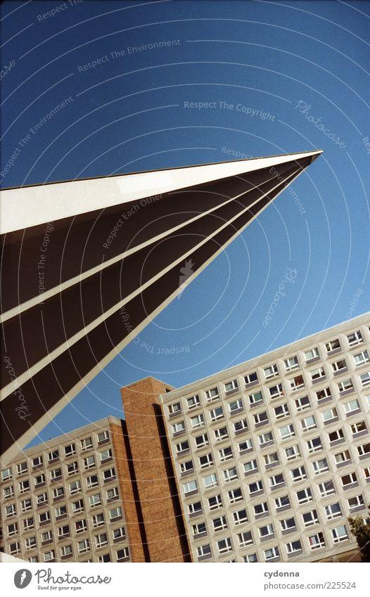 City Style Architecture Design Esthetic Uniqueness Point Analog GDR Downtown Berlin Capital city Prefab construction Alexanderplatz Development Cloudless sky
