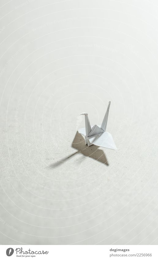Crane origami Leisure and hobbies Playing Decoration Craft (trade) Art Animal Bird Paper Toys Red White Hope Origami crane background Japan Object photography