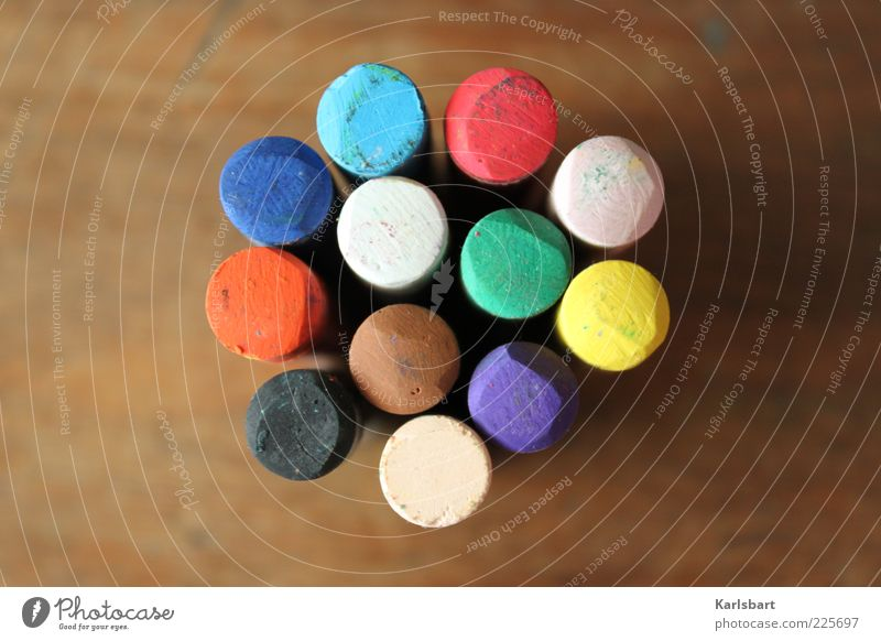 White Green Blue Red Black Yellow Colour Wood Brown Pink Design Multiple Round Leisure and hobbies Uniqueness Point