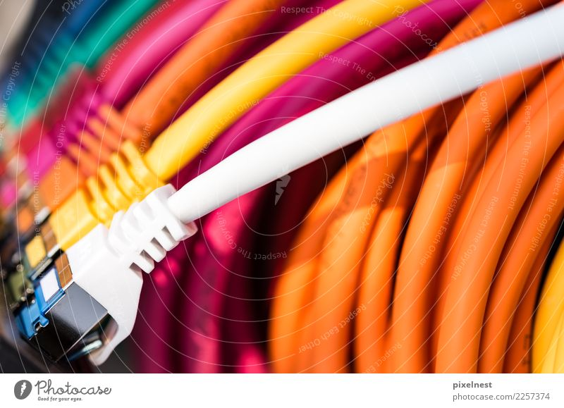 White Red Yellow To talk Pink Office Technology Telecommunications Computer Cable Network Internet Information Technology Computer network Online Email