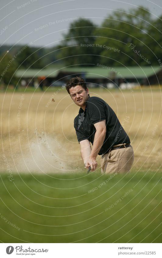 golf Sports Golf sand bunker cool guy