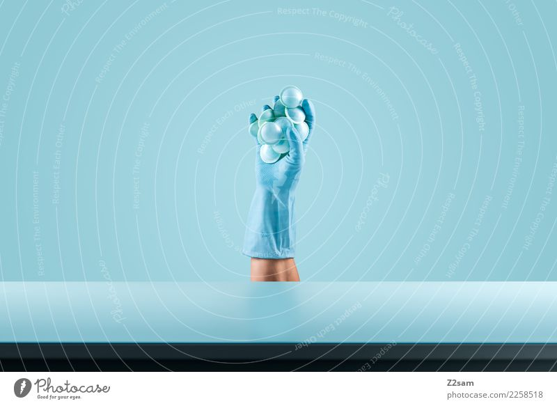 Still Life / Blue Candy Nutrition Elegant Style To hold on Esthetic Cool (slang) Simple Fresh Cold Modern Design Colour Fashion Hand Stop UFO Highlight Noble