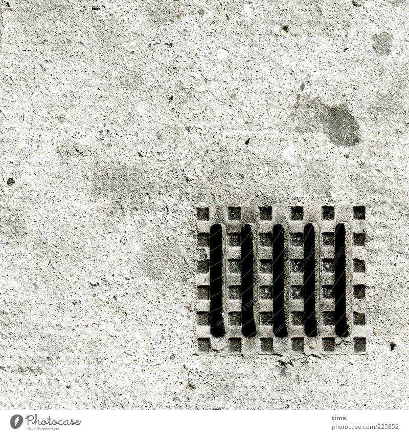 Stone Metal Dirty Concrete Arrangement Esthetic Authentic Simple Firm Sign Point Sidewalk Steel Square Rust Iron