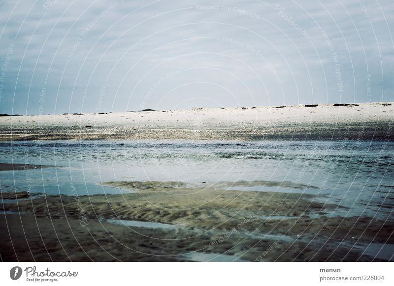 Sky Nature Water Ocean Beach Clouds Landscape Cold Sand Coast Authentic Elements North Sea Wanderlust Mud flats Amrum