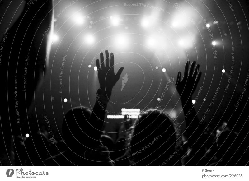 Hand Black Emotions Moody Music Arm Authentic Fingers Concert Event Stage Audience Enthusiasm Expectation Floodlight Stage lighting