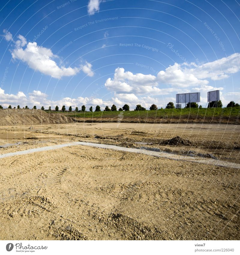 Nature Clouds Far-off places Environment Landscape Sand Earth Esthetic Growth Authentic New Industry Construction site Sign Beautiful weather Positive