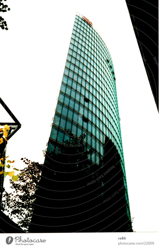 Sky Berlin Architecture Glass Tall Modern High-rise Potsdamer Platz Sony Center Berlin