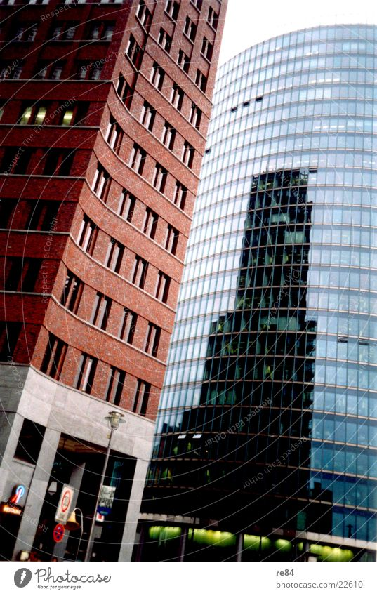 Berlin Architecture Glittering Glass High-rise Modern Potsdamer Platz Sony Center Berlin