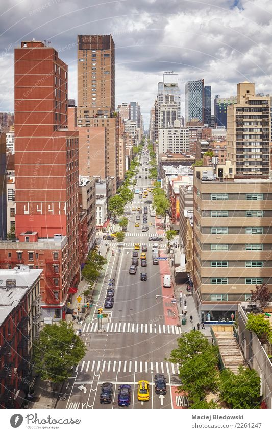 Aerial picture of New York City downtown, USA. Vacation & Travel Summer House (Residential Structure) Street Architecture Building City life Living or residing