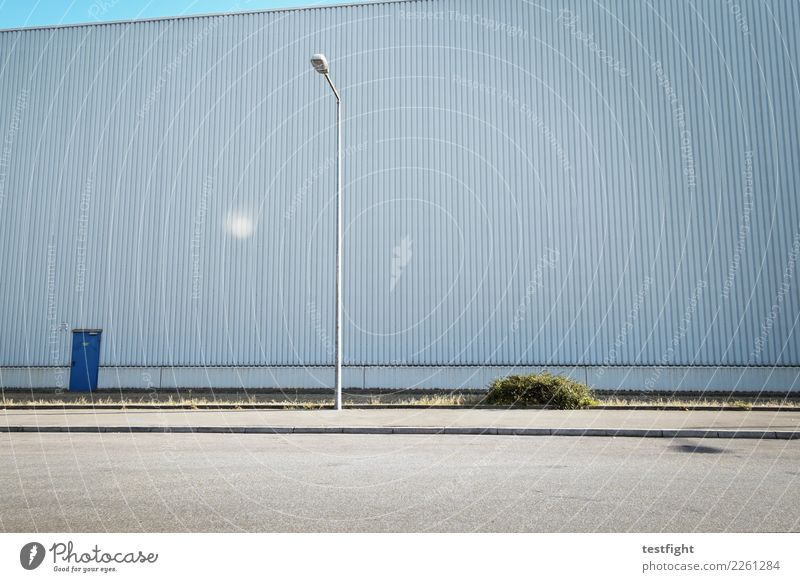 Street Architecture Wall (building) Building Wall (barrier) Facade Large Manmade structures Lantern Warehouse Industrial district