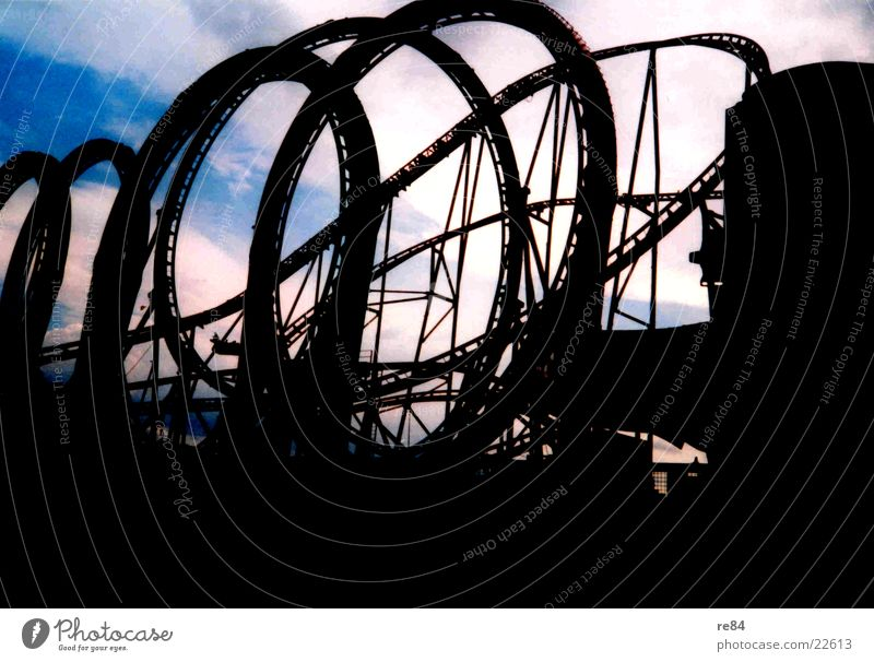 Sky Cologne Obscure Fairs & Carnivals Curve Extreme Roller coaster