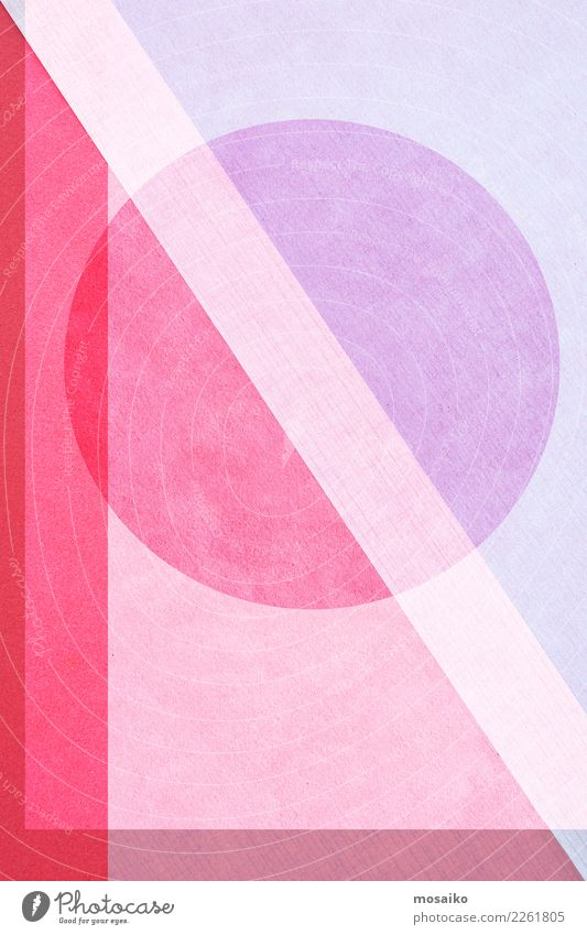 Background picture Style Art Fashion Pink Design Line Retro Paper Circle Round Illustration Safety Flag Hip & trendy Athletic