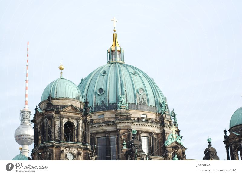 Sky Old City Berlin Architecture Building Bright Modern Esthetic New Church Tower Culture Roof Manmade structures