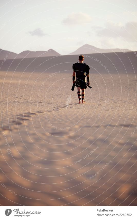 Human being Mountain Adults Lanes & trails Sand Masculine Power Walking Hope Target Strong Desert Barefoot Costume Willpower Stony