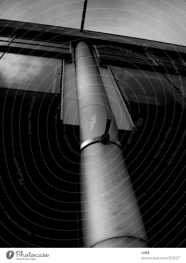 Sky White Black Dark Gray Building Architecture Glass Modern Cologne Steel Joist