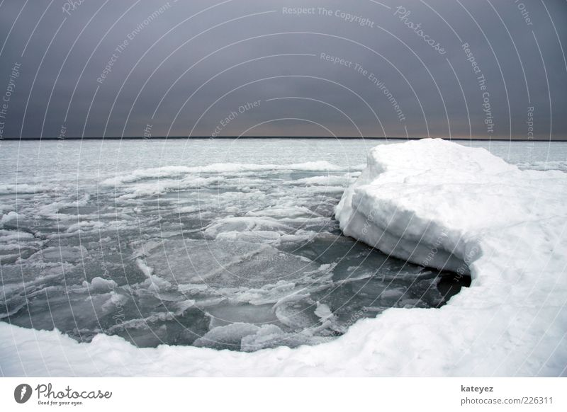 Nature Water White Blue Ocean Winter Loneliness Relaxation Cold Snow Gray Weather Ice Horizon Frost Frozen