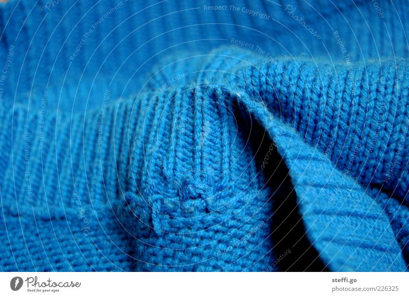 Blue Clothing Soft Cloth Fat Textiles Cozy Sweater Cuddly Wool Comfortable Cotton Thread Knit Knitted Colour