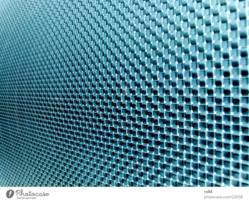 Blue Green Black Wall (building) Glass Modern Network Cable Technology Transmission lines Grating Interlaced Thread Pattern Information Technology