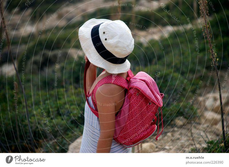 Human being Child Nature Beautiful Girl Vacation & Travel Feminine Environment Infancy Arm Skin Trip Hiking Adventure Bushes Cute