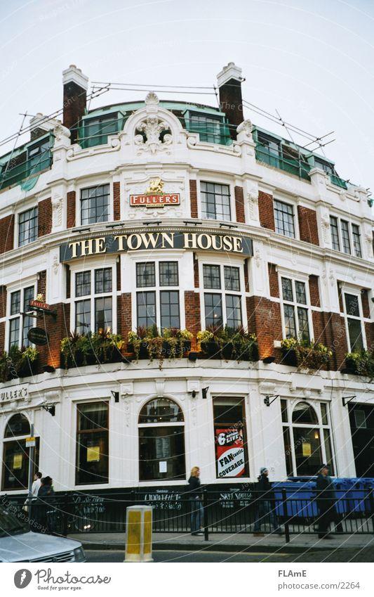 Pub #2 London England Gastronomy Restaurant Window Europe Door