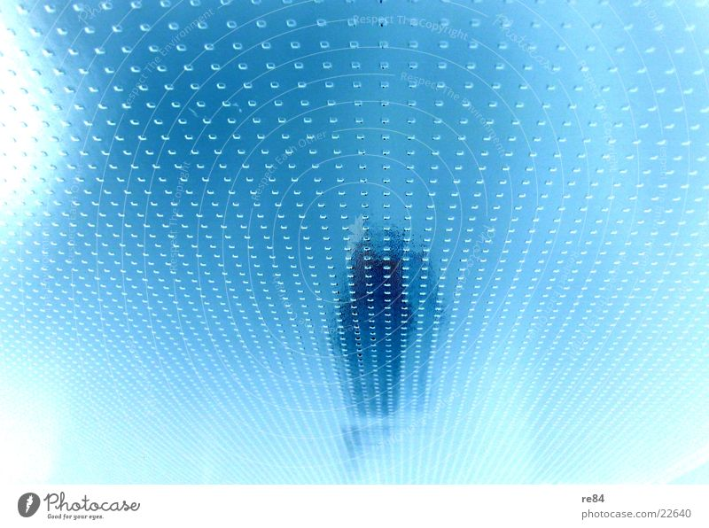 White Blue Bright Glass Living or residing Pattern Frosted glass