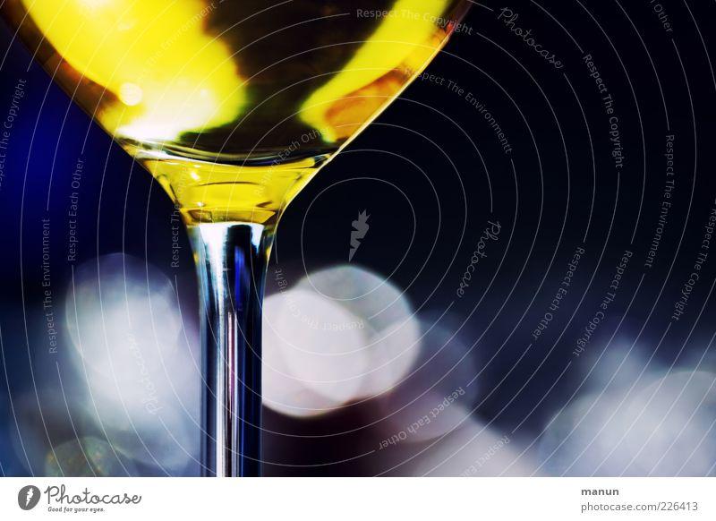 Moody Glass Glittering Fresh Beverage Lifestyle Wine Illuminate Pure Delicious Joie de vivre (Vitality) To enjoy Alcoholic drinks Hip & trendy Thirst Quality