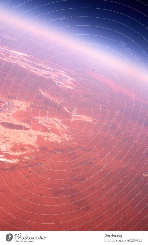 Sky Red Environment Landscape Earth Air Horizon Desert Universe Planet Australia Atmosphere Light Stratosphere