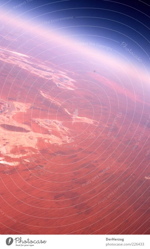 Sky Red Environment Landscape Earth Air Earth Horizon Desert Universe Planet Australia Atmosphere Light Stratosphere