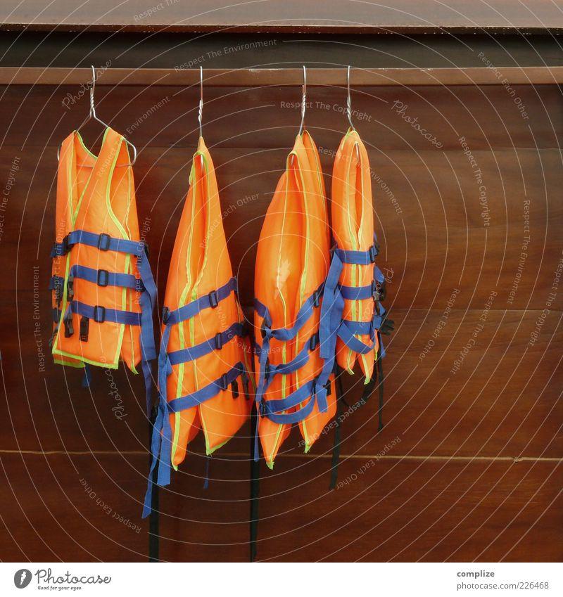 Swimwear 2015 Clothing Workwear Protective clothing Swimming & Bathing Sports Orange Life jacket SOS Closet Hanger Deserted Safety Protection Blue Suspended Day