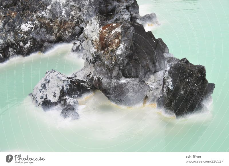 Water Warmth Rock Warm-heartedness Lakeside Turquoise Iceland Steam Health Spa Sediment Ocean Stone Lagoon Hot springs