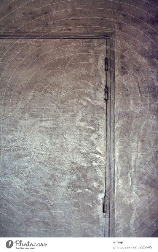Wall (building) Gray Wall (barrier) Door Facade Silver Abstract Hinge Doorframe