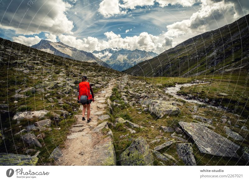 mountain age Lifestyle Healthy Wellness Well-being Contentment Relaxation Calm Vacation & Travel Tourism Trip Adventure Far-off places Freedom Expedition