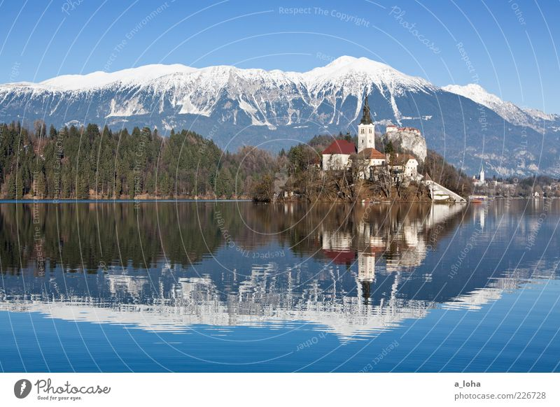 Nature Old Winter Far-off places Mountain Landscape Coast Lake Religion and faith Island Church Uniqueness Alps Manmade structures Village Peak