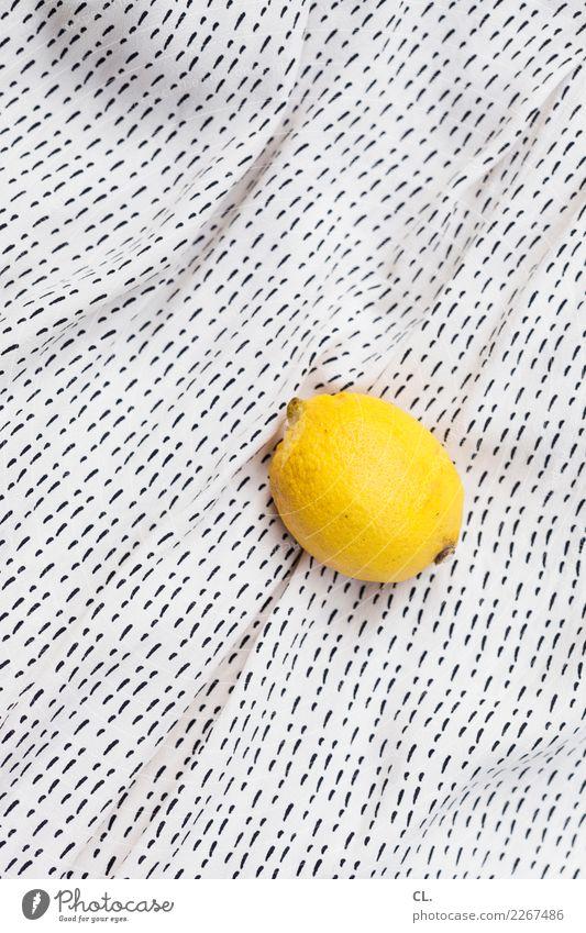 Healthy Eating Yellow Food Nutrition Fresh Cloth Organic produce Lemon Vitamin-rich Vitamin C Lemon yellow Folded cloth Lemon peel