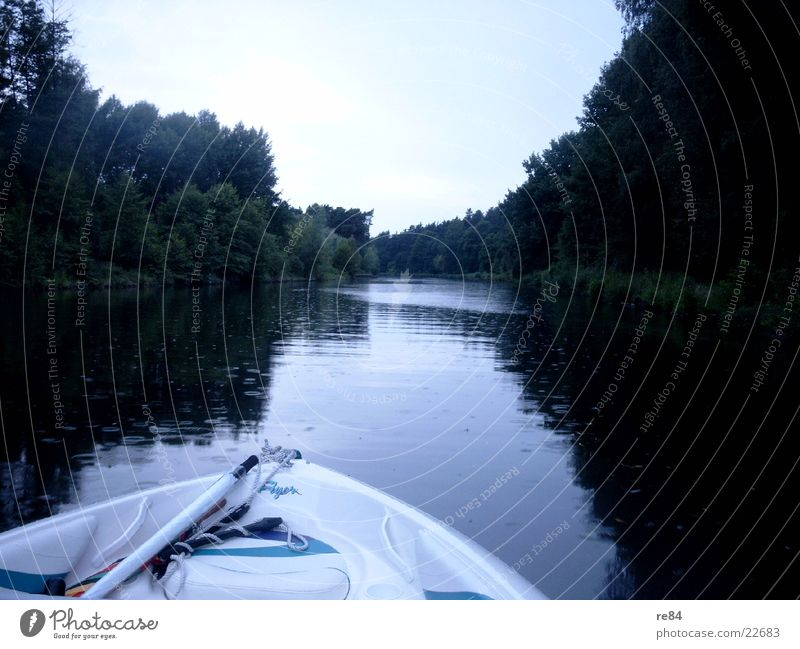 Nature Water Berlin Lake Bright Watercraft Arm River Common Reed Pond Fishing (Angle) Engines Reaction Spree