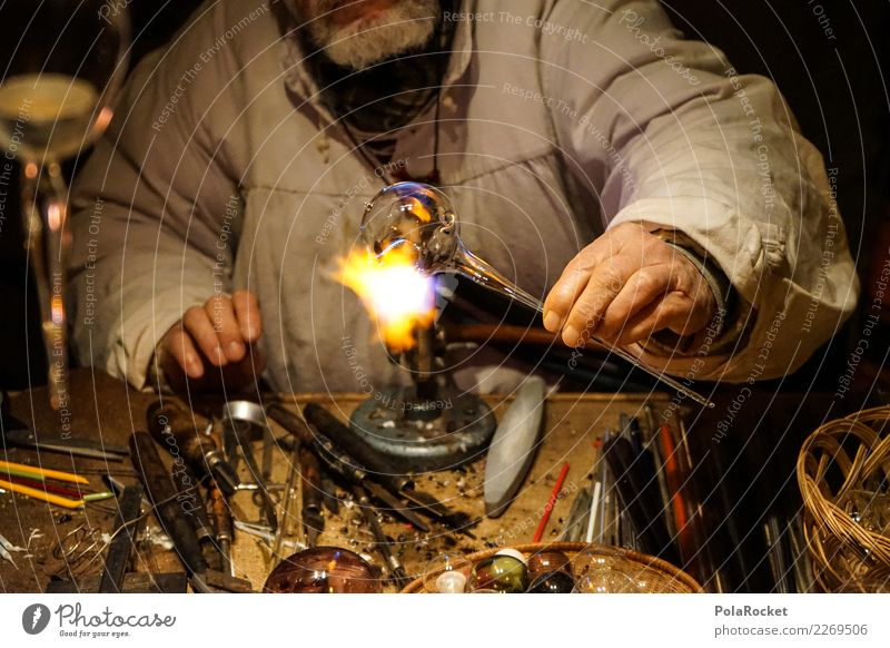 Art Decoration Glass Fire Tradition Craft (trade) Make Workshop Markets Artist Experience Quality Self-made Christmas Fair Medieval times Smithy