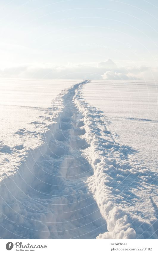 Sky Nature White Clouds Winter Environment Cold Lanes & trails Snow Contentment Snowfall Horizon Ice Hope Hill Target