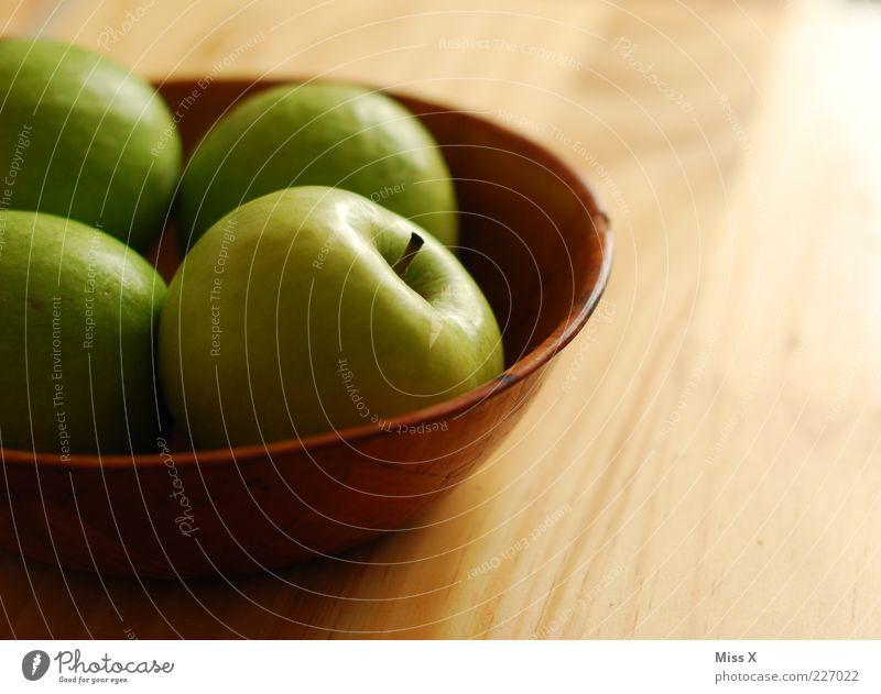 Green Nutrition Wood Food Fruit Fresh Sweet Apple Delicious Diet Organic produce Bowl Juicy Sour Vegetarian diet Light