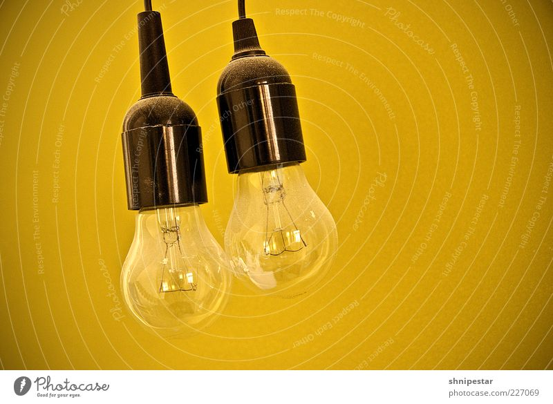 Black Lamp Energy industry Electric bulb Suspended Energy crisis