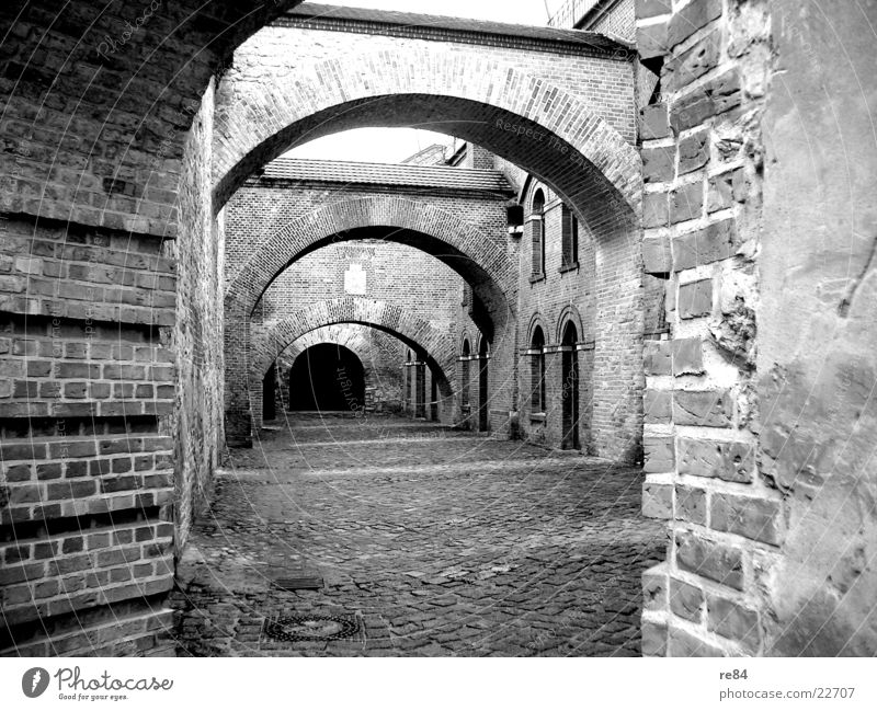 stone age Wall (barrier) Construction Gray Black White Light Masonry Cold Wood Stone Furrow Damp R Architecture Bridge Tower Lanes & trails Old Shadow Knight