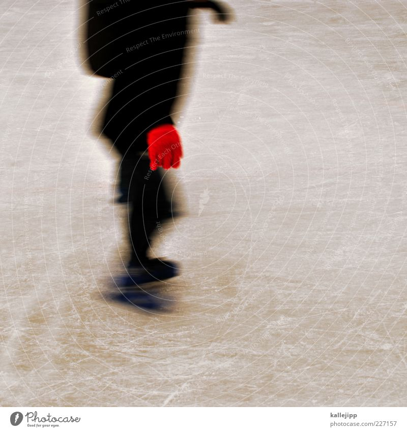 Human being Red Winter Black Sports Playing Ice Leisure and hobbies Speed Climate Lifestyle Frost Driving Winter sports Gloves Ice-skating