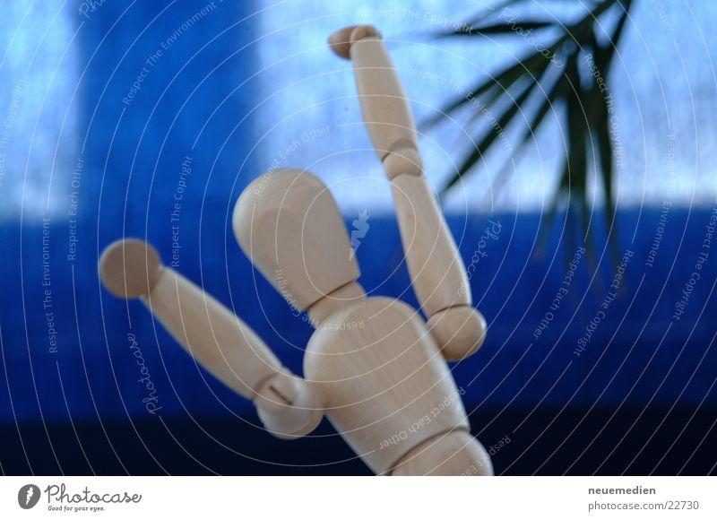 *jubilate* Joy Wood Wooden doll Hands up! Power Things dance